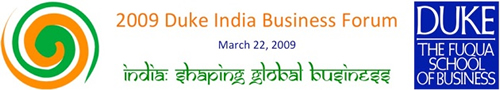duke india business forum